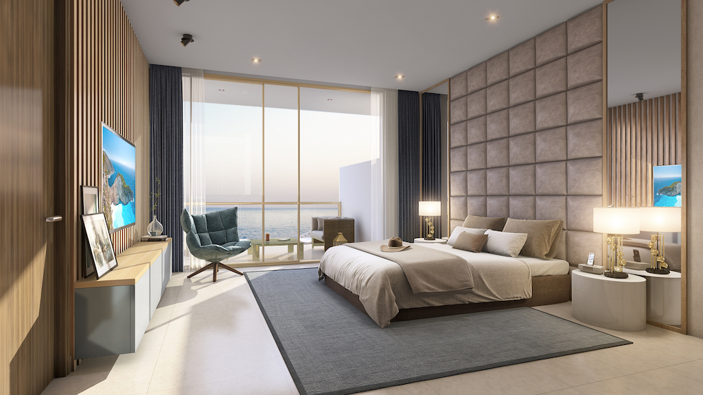 Two And Three Bedroom Beachfront Apartments At Serenia